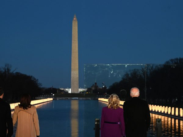 Biden, Harris speak from Lincoln Memorial about lives lost to COVID-19