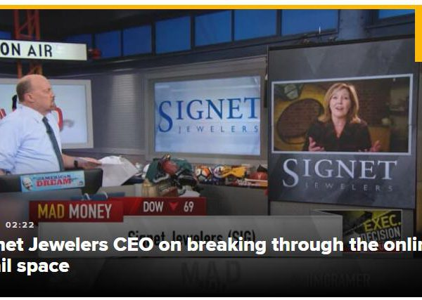 Signet's move into selling jewelry online yields strong holiday results, CEO says